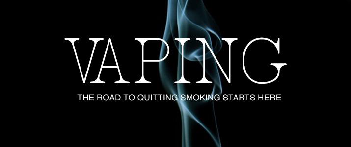 Quit Smoking and Start Vaping